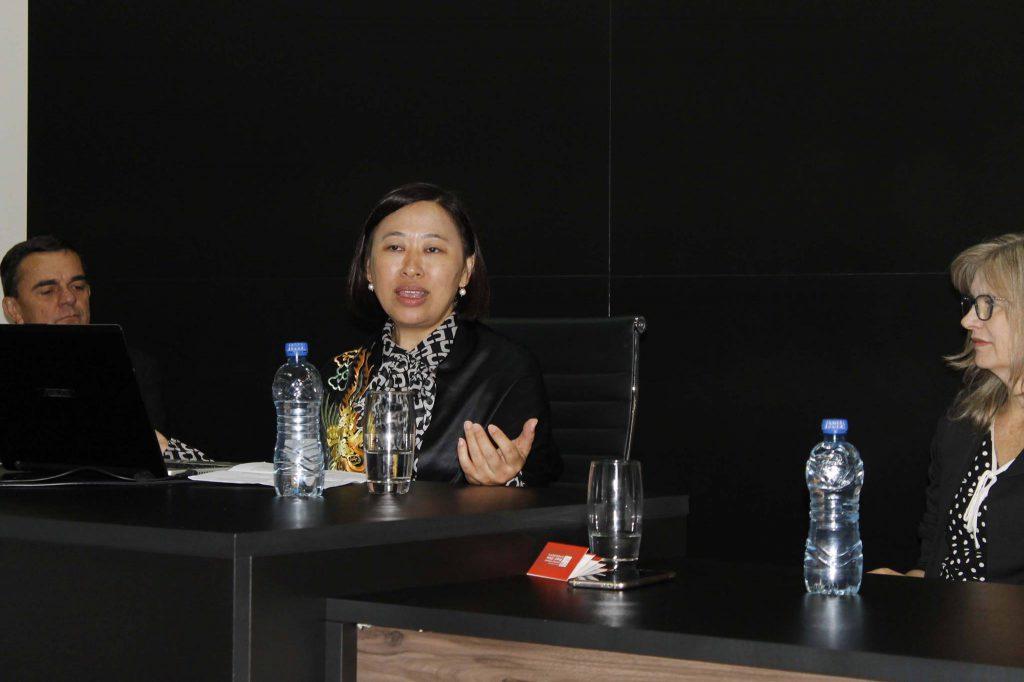 Monica Fang (Fang Ji), CEO da CIECBC