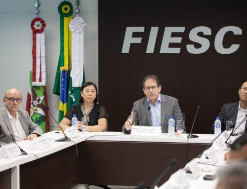 Comitiva chinesa apresenta oportunidades de parcerias com Santa Catarina