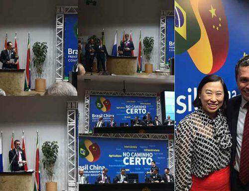 Centro de Intercâmbio Econômico e Comercial Brasil-China participa do lançamento de duas Frentes Parlamentares