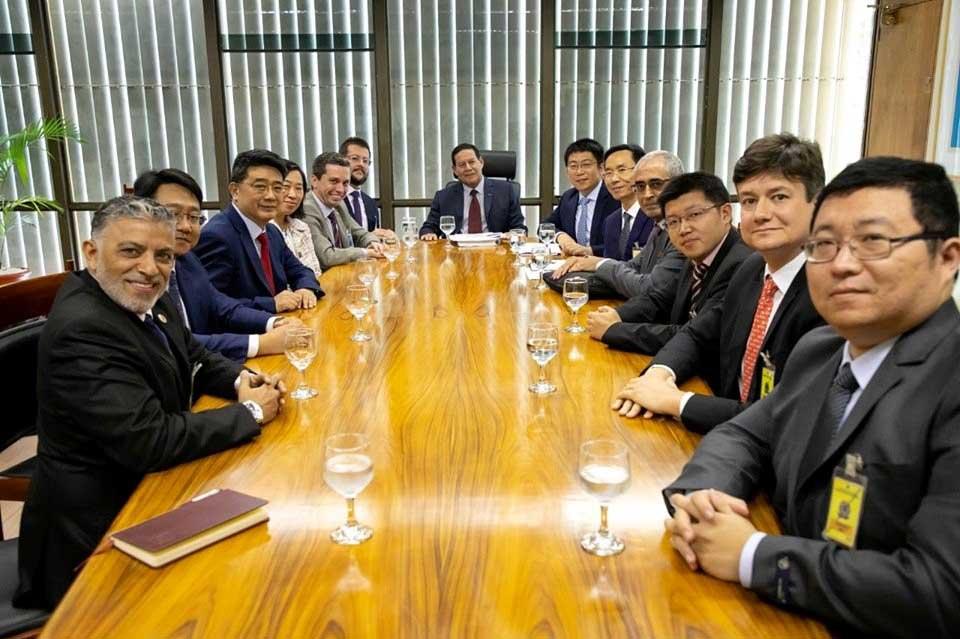 Vice-Presidente Hamilton Mourão na China