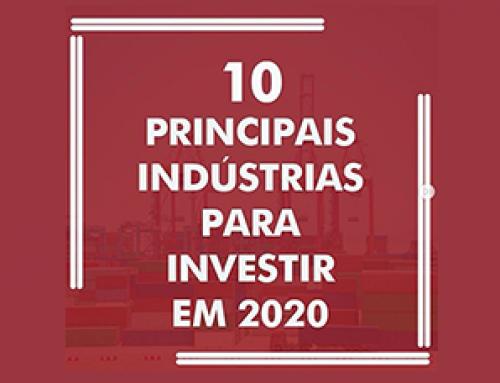 10 Principais Indústrias para Investir em 2020